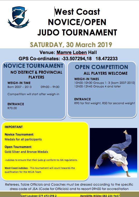 2019 Judo Events and Results - The official home of the Cape